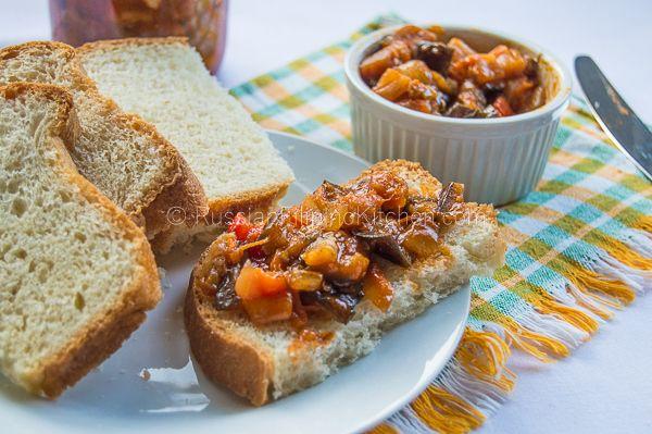 recipe: baklazhannaya ikra russian eggplant caviar [33]