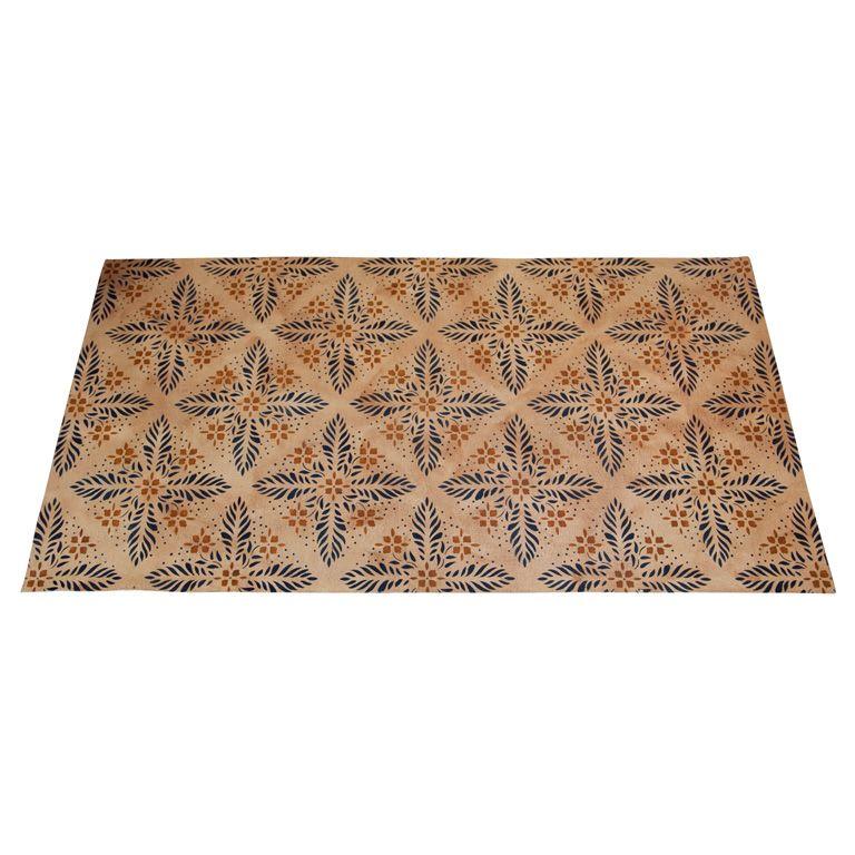 Painted Kitchen Floor Cloth: Painted Floor Cloths, Floor