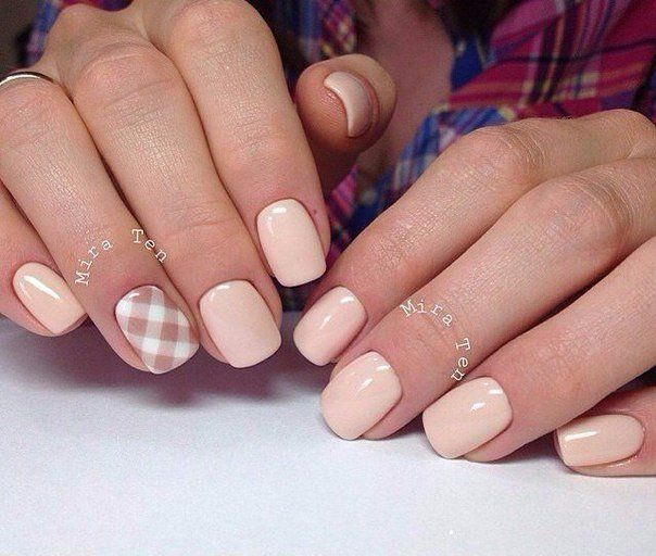 Basic But Beautiful Shellac Nail Design Modren Villa Black Nail Designs Pretty Nails Nail Art Designs 2016