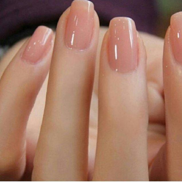 Nude Nail Art   French tip nail designs   Nail polish   Pinterest ...