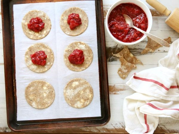 Strawberry Rhubarb Hand Pies with Pecan Crust   completelydelicious.com
