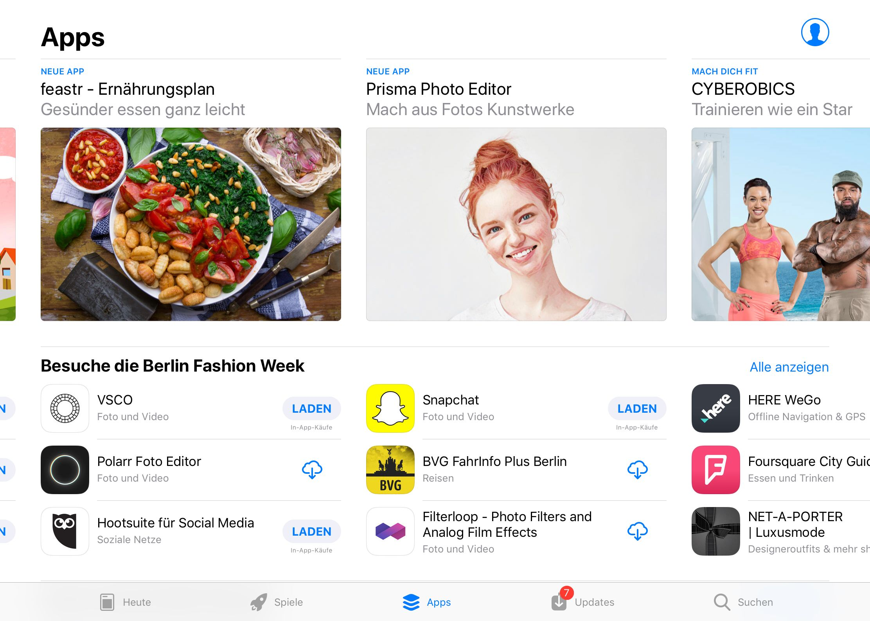 App Store für iPhone & iPad Ipad apps