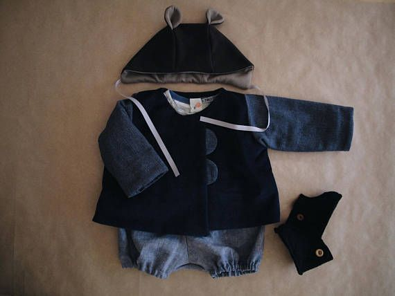 Baby boy clothes baby boy christmas outfit baby boy jacket perlulu