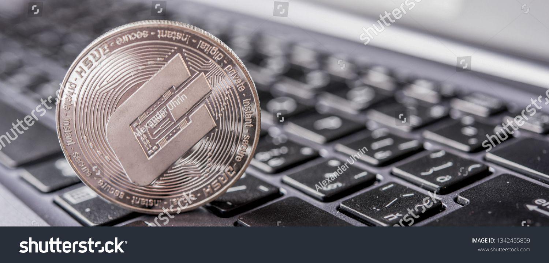 Dash on keyboard Crypto currency