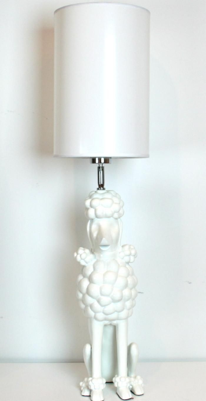 Poodle lamp creativity pinterest poodle modern and retail poodle lamp geotapseo Images