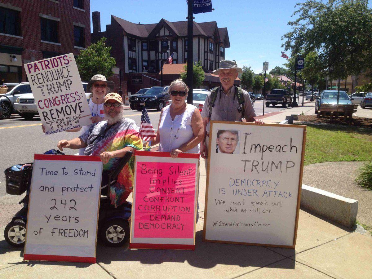 Charlie Adler & friends on Peaceful protest, Charlie