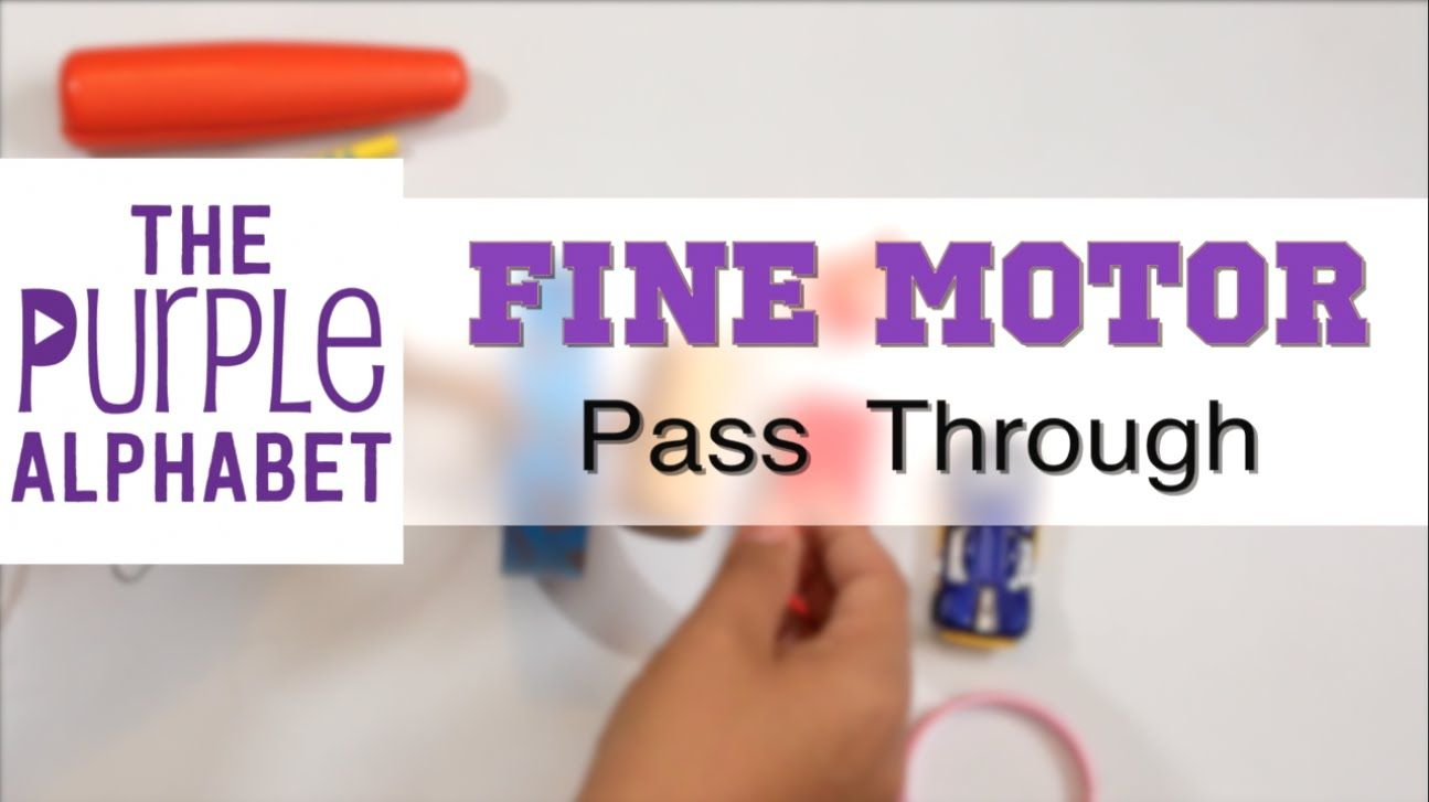 Cheap and Easy Fine Motor Exercise for Kids