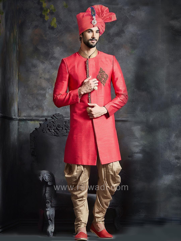Dupion silk indo western sherwani rajwadi indowestern trendy
