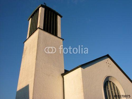 Die katholische Kirche Sankt Michael in Oerlinghausen bei Bielefeld im Teutoburger Wald
