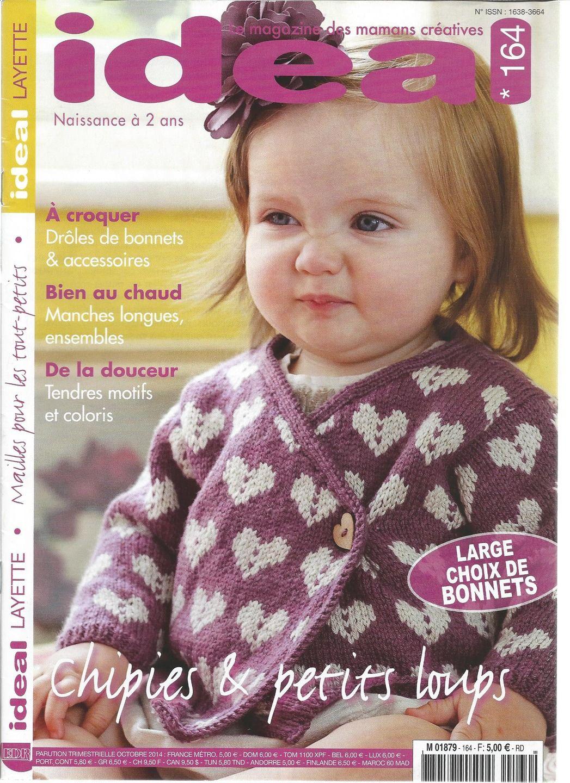 catalogue livre tutoriel IDEAL LAYETTE n - 164   Matériel Tricot par  angelinatricote 028c1c161ae