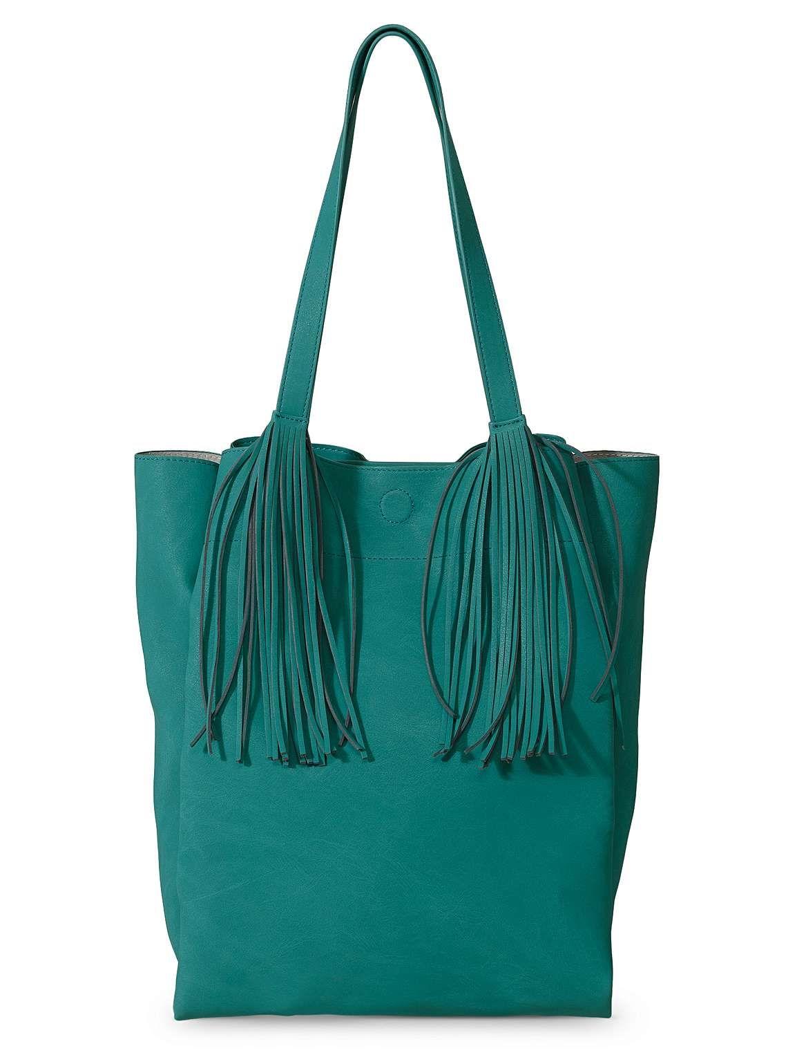 28ed2b4c55 Abi Green Tassel Tote Bag in 2019   My Style   Tote Bag, Bags, Tassels