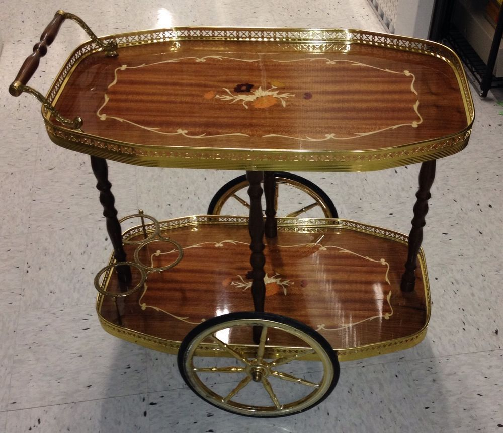 Bar Carts Vintage Antique Italian