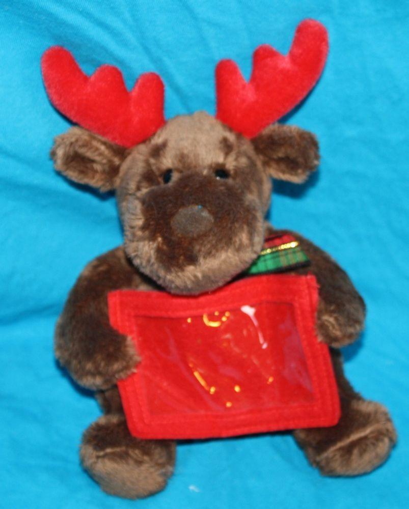 Mary Meyer Reindeer Plush Gift Card Holder Christmas Holiday Stuffed