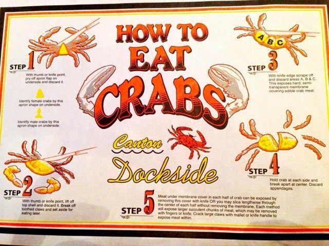 Canton Dockside Eat Crab Good Eats