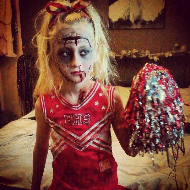 Zombie Cheerleader | Halloween Kids Costumes | Pinterest | Zombie Cheerleader
