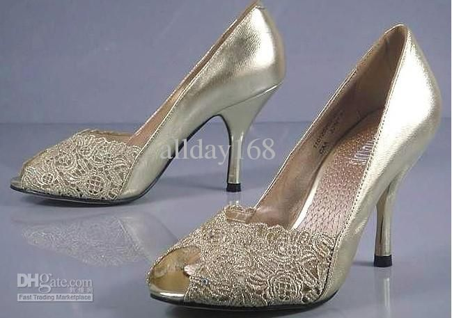 Images of Gold Shoes For Wedding - Weddings Pro