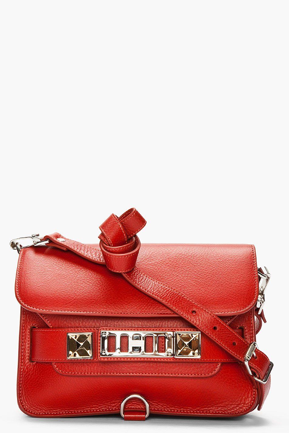 Proenza Schouler     Paprika Leather Ps11 Mini Classic. PROENZA SCHOULER   MyPaprikaIsHotterThanYours  OPIEuroCentrale New Handbags b4d26f3de0d48