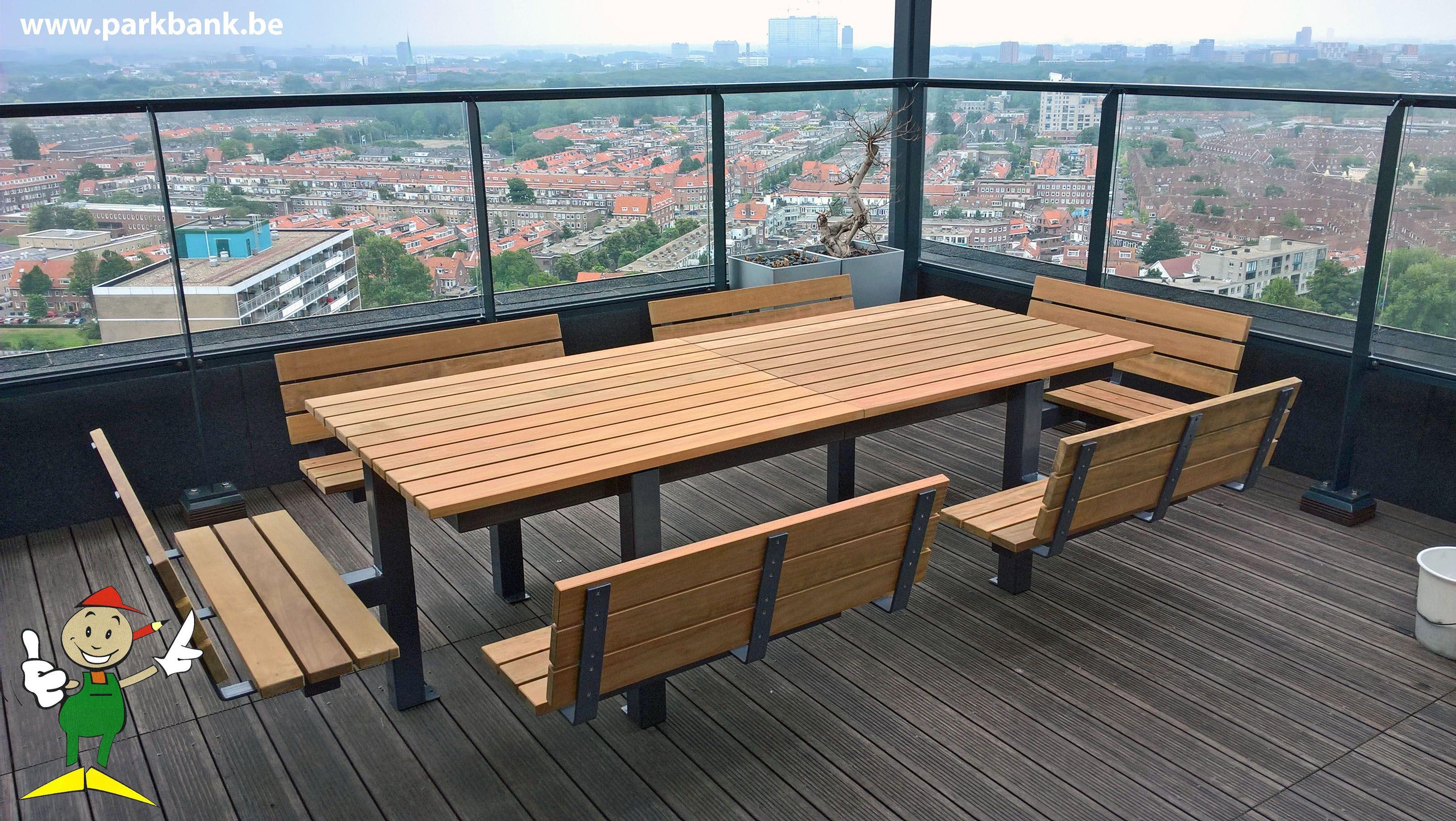 Charmant Eettafel Design Picknicktafel Terrastafel Www.parkbank.be