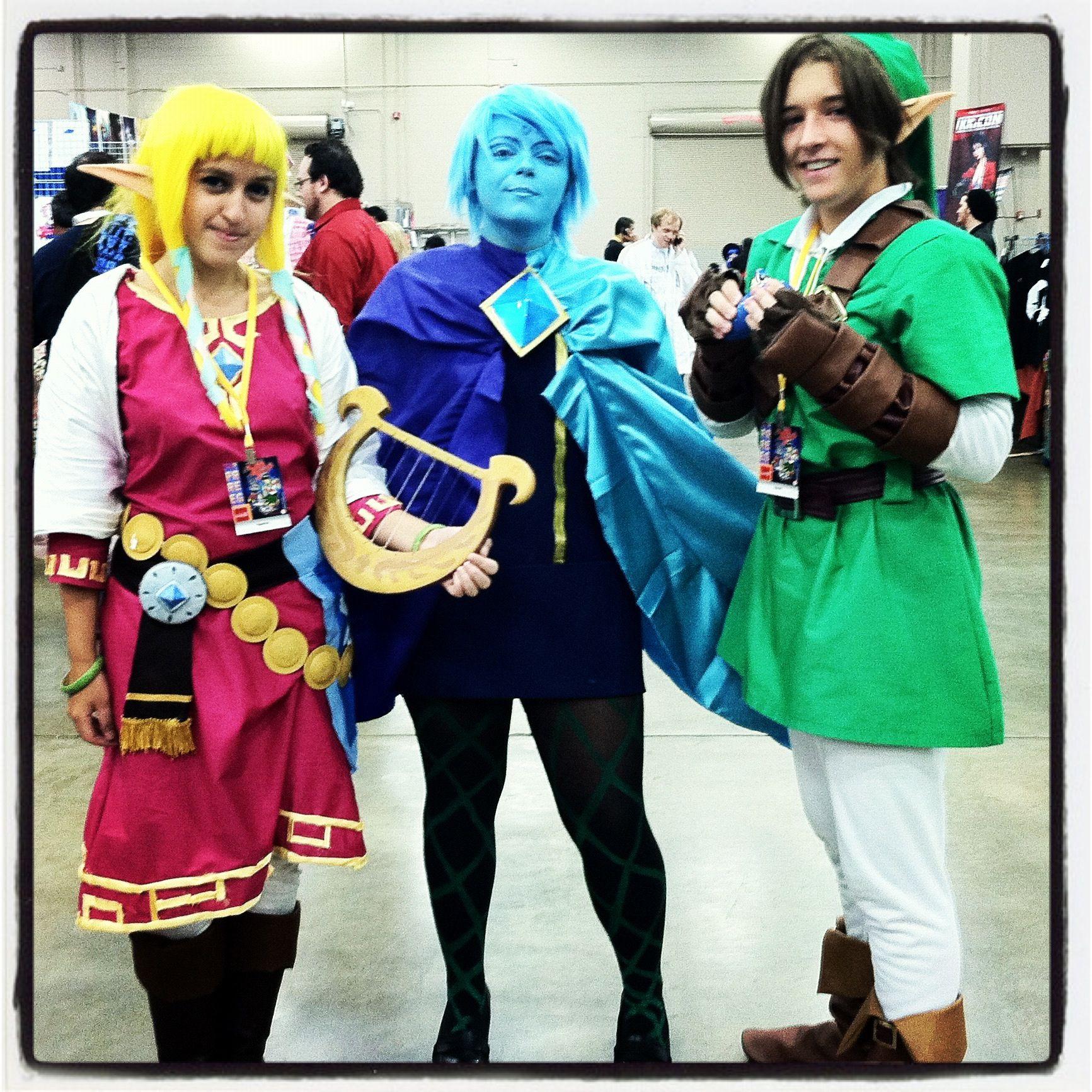Fi, Zelda and Link cosplay | Cosplay | Link cosplay ...