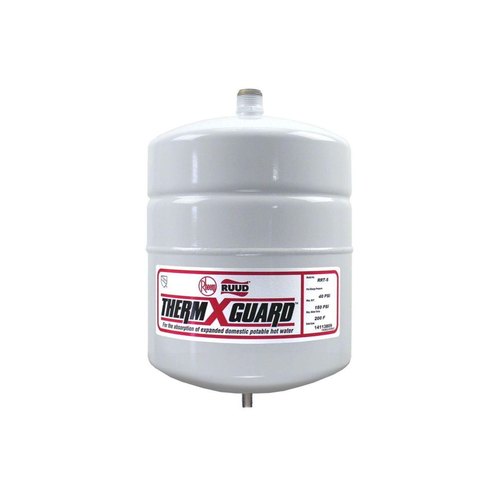 Rheem Rrt 5 Rrt Therm X Guard Expansion Tank 2 5 Gallon Diy Parts In 2020 The Expanse Water Heater Gallon