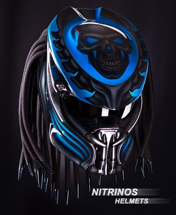 pingl par nitrinos sur predator helmet original pinterest casque moto et casque harley. Black Bedroom Furniture Sets. Home Design Ideas