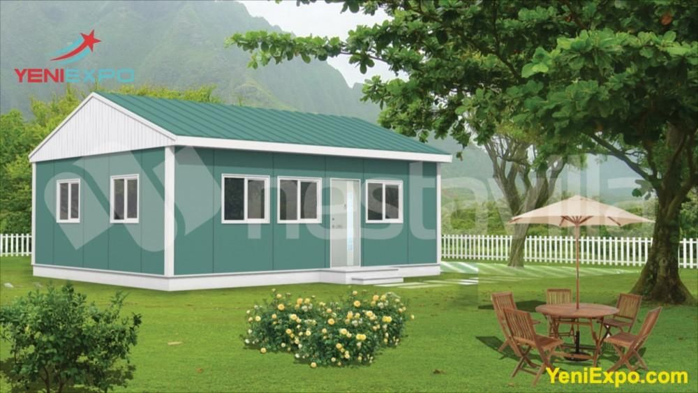 Nvilla Prefab Homes For Sale Chrysanthemum 49 M2 In 2020 Prefab Homes Prefab Homes For Sale Modular Homes For Sale