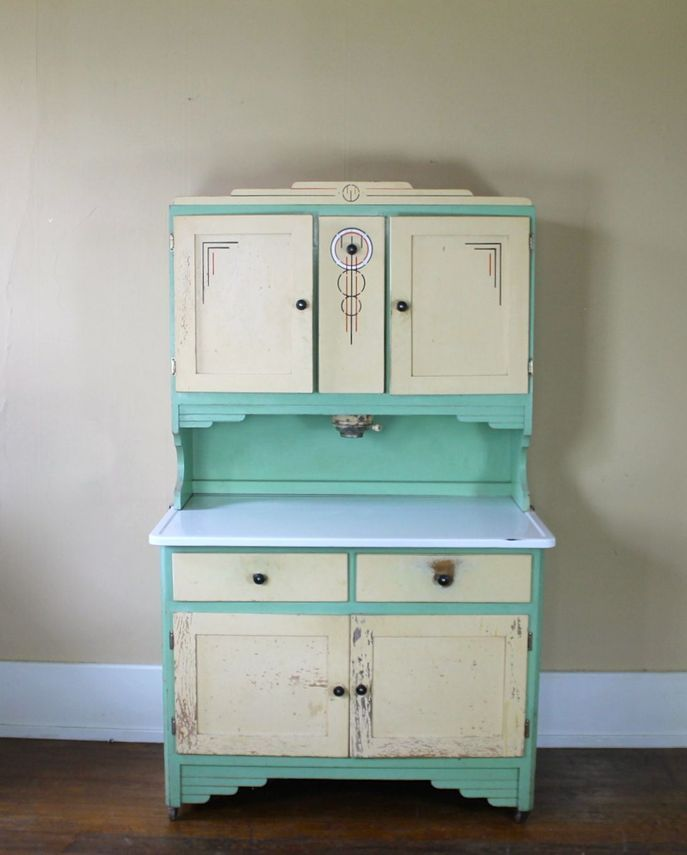 Antiques Kitchen Cabinets: Kitchen Cupboards, Art Deco