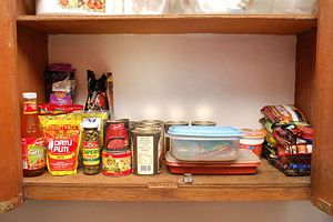 How to Organize Kitchen Cabinets: 15 Steps (with Pictures) #organizekitchen