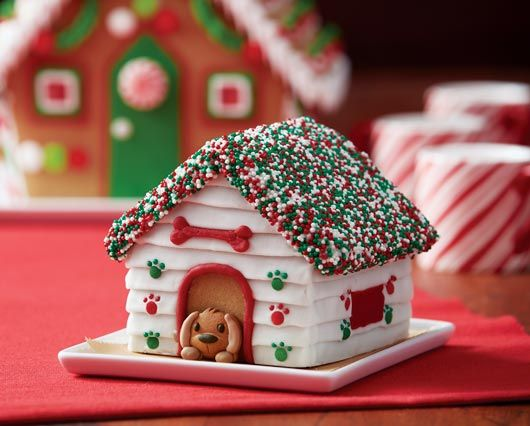 4 ways to decorate your gingerbread dog house learn more with tips ideas and expert articles from the walmart food celebrations center