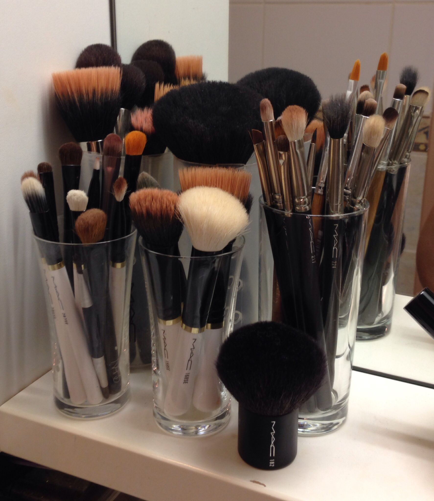 My MAC brush collection )) Best tools for a flawless