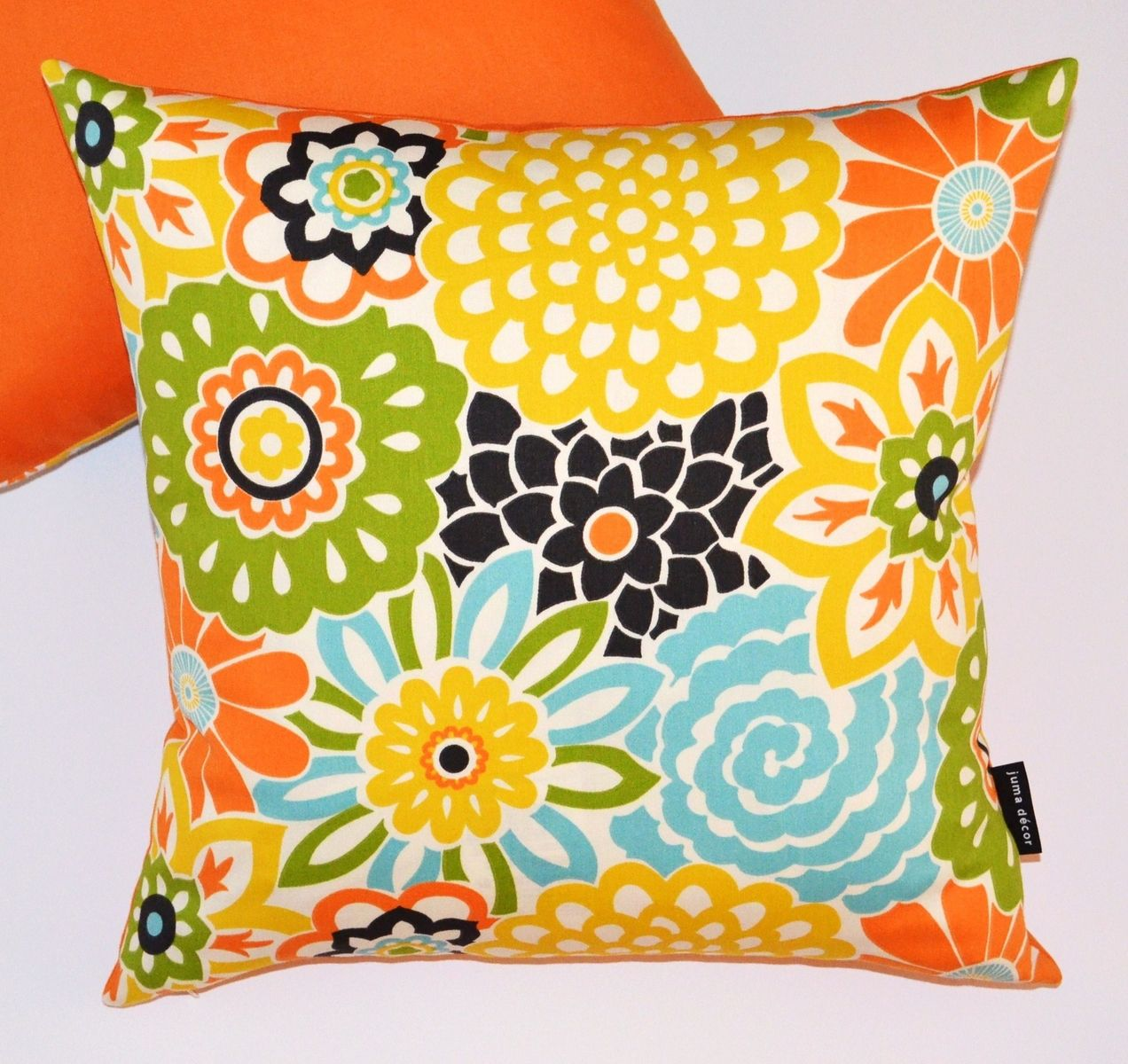 Pretty Amp Bright Floral Pillows Home Improvements Throw
