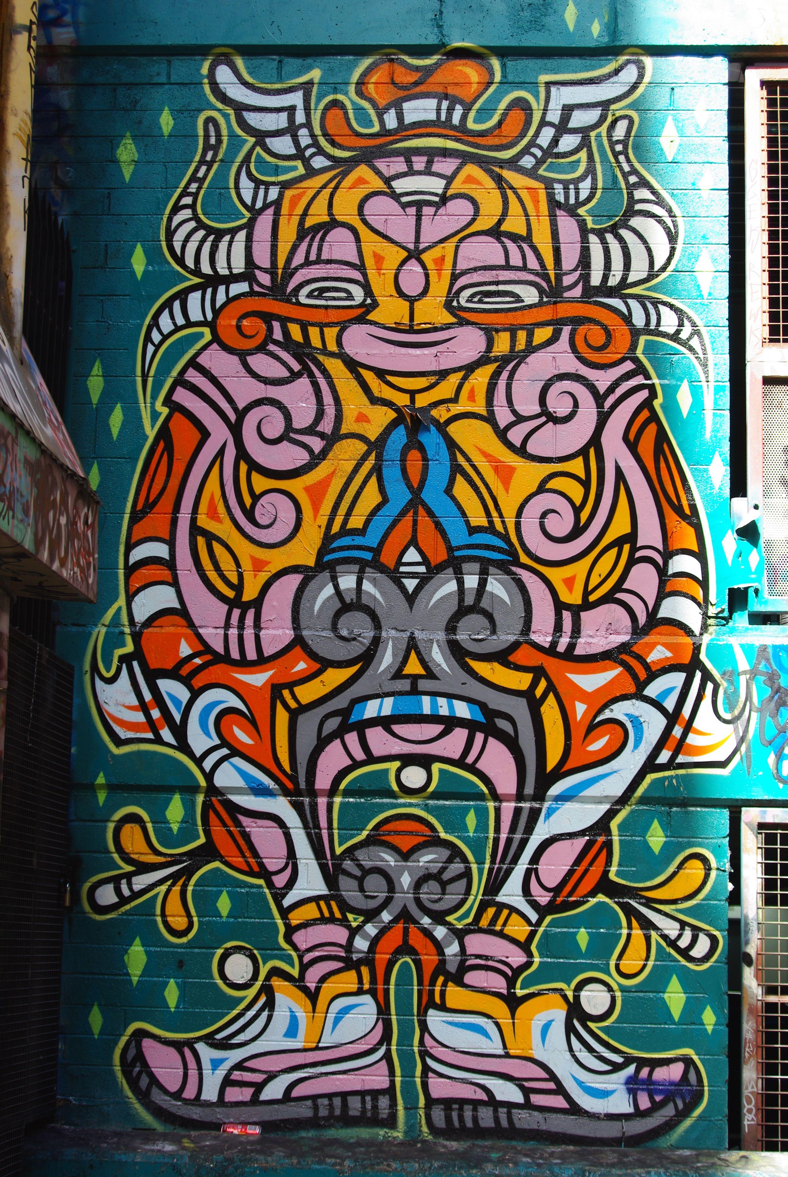 Melbourne, Australia Street graffiti, Street art