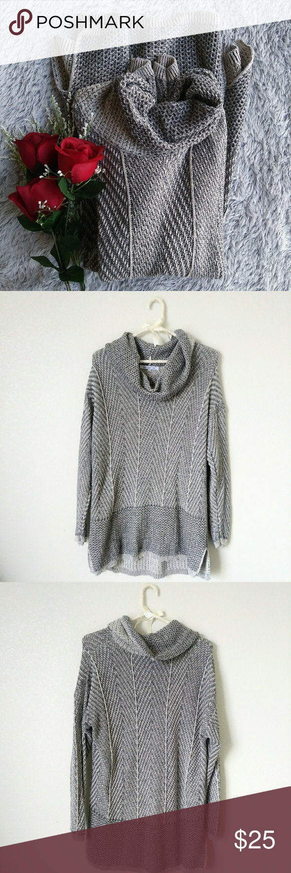 Nordstrom Knit Cowl Neck Sweater XL | Knit cowl, Cowl neck and ...