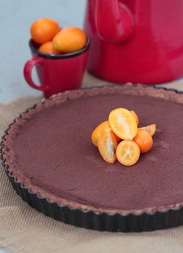 Chocolate n Orange Marmalade Tart