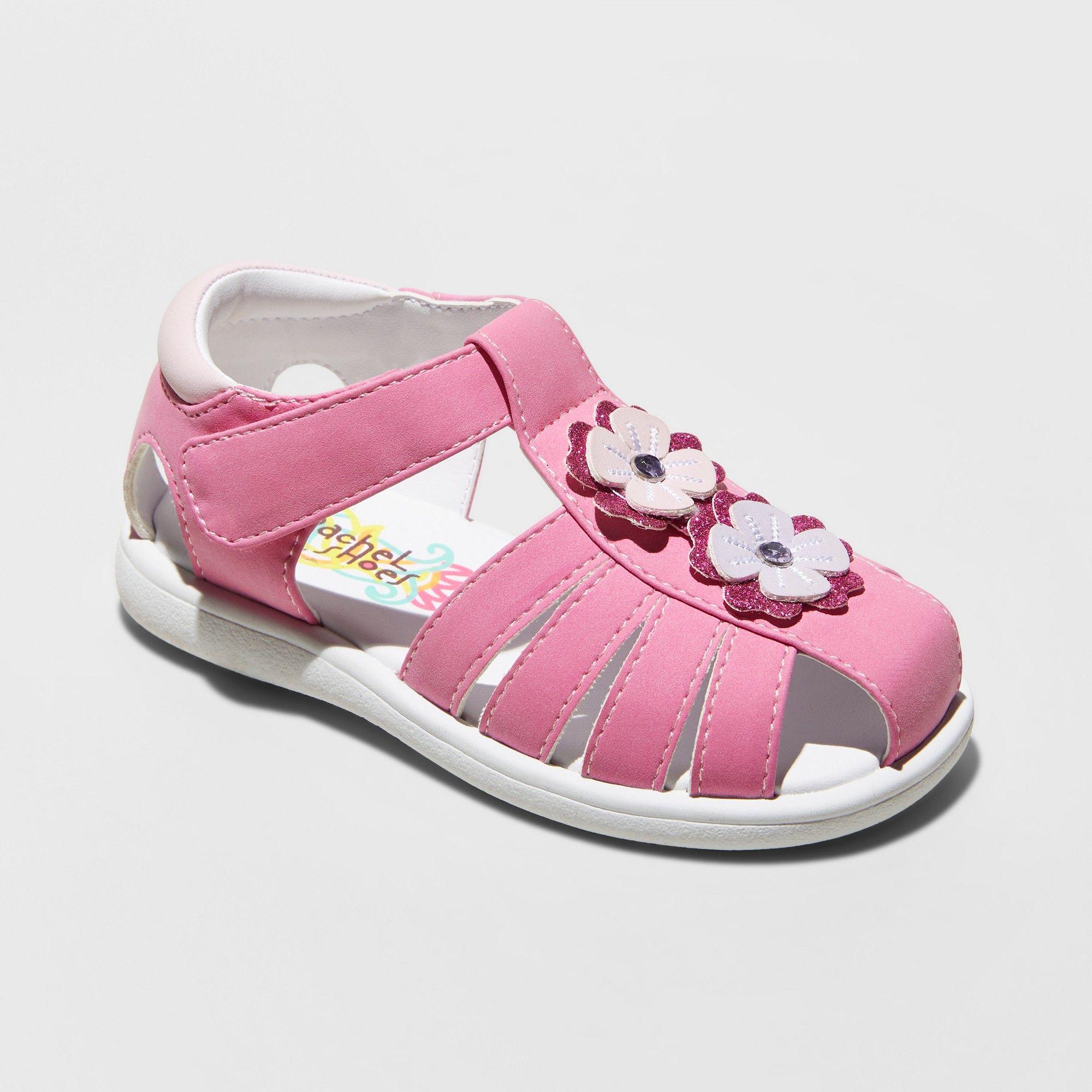 Toddler Girls Rachel Mae Fisherman Sandals Pink 7 Stand Alone