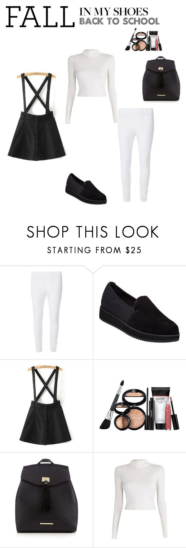 """""""Untitled #122"""" by molleighderp ❤ liked on Polyvore featuring Dorothy Perkins, Eileen Fisher, Laura Geller, Red Herring and A.L.C."""