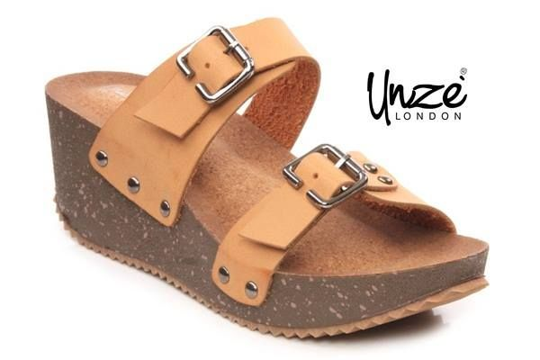 #Women #Casual Open Toe Wedge #Sandal to see more information click image or visit @Unze London London Uk