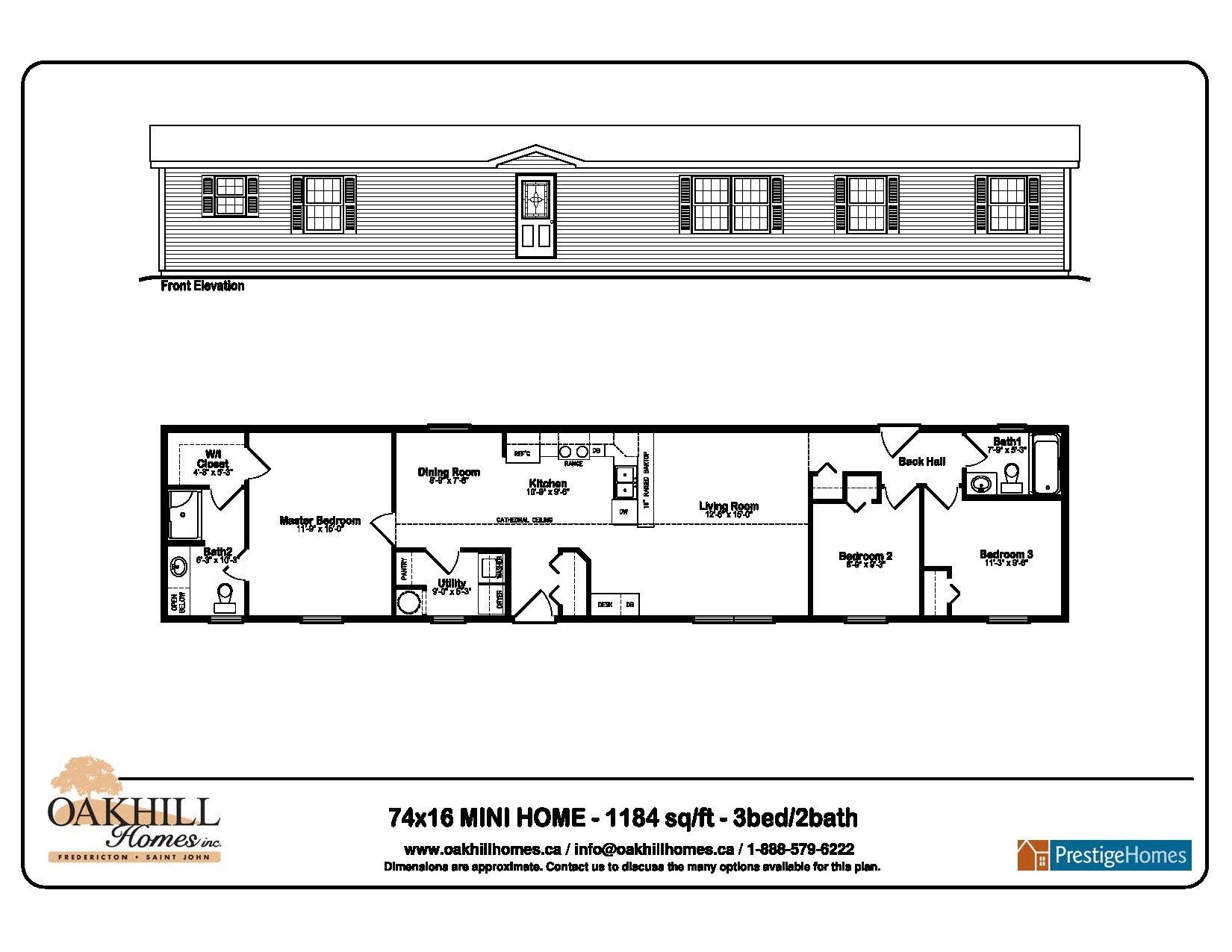 Fredericton Mini Home Floor Plans Mini House House Floor Plans How To Plan