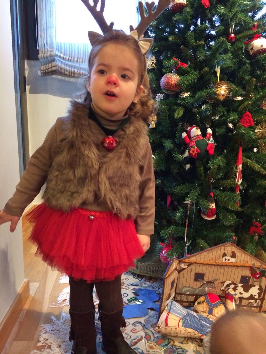 Disfraz De Reno Casero Disfraces Navidad Niños Disfraz De Reno Disfraces Navideños