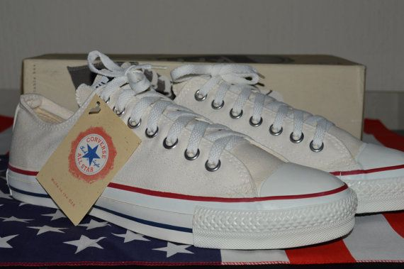 ae4de48b1a53b5 converse all star vintage rare deadstock og made in usa 9.5 NWB ...