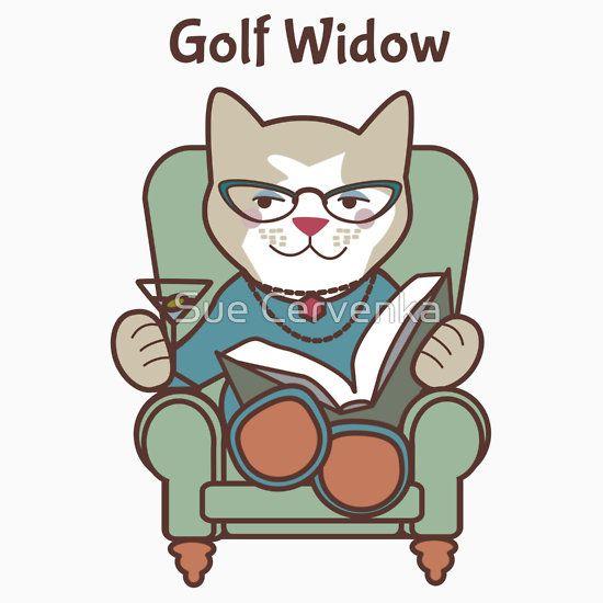 Golf Widow Cat