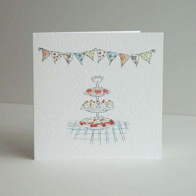 Happy Birthday Bunting Tea £2.50