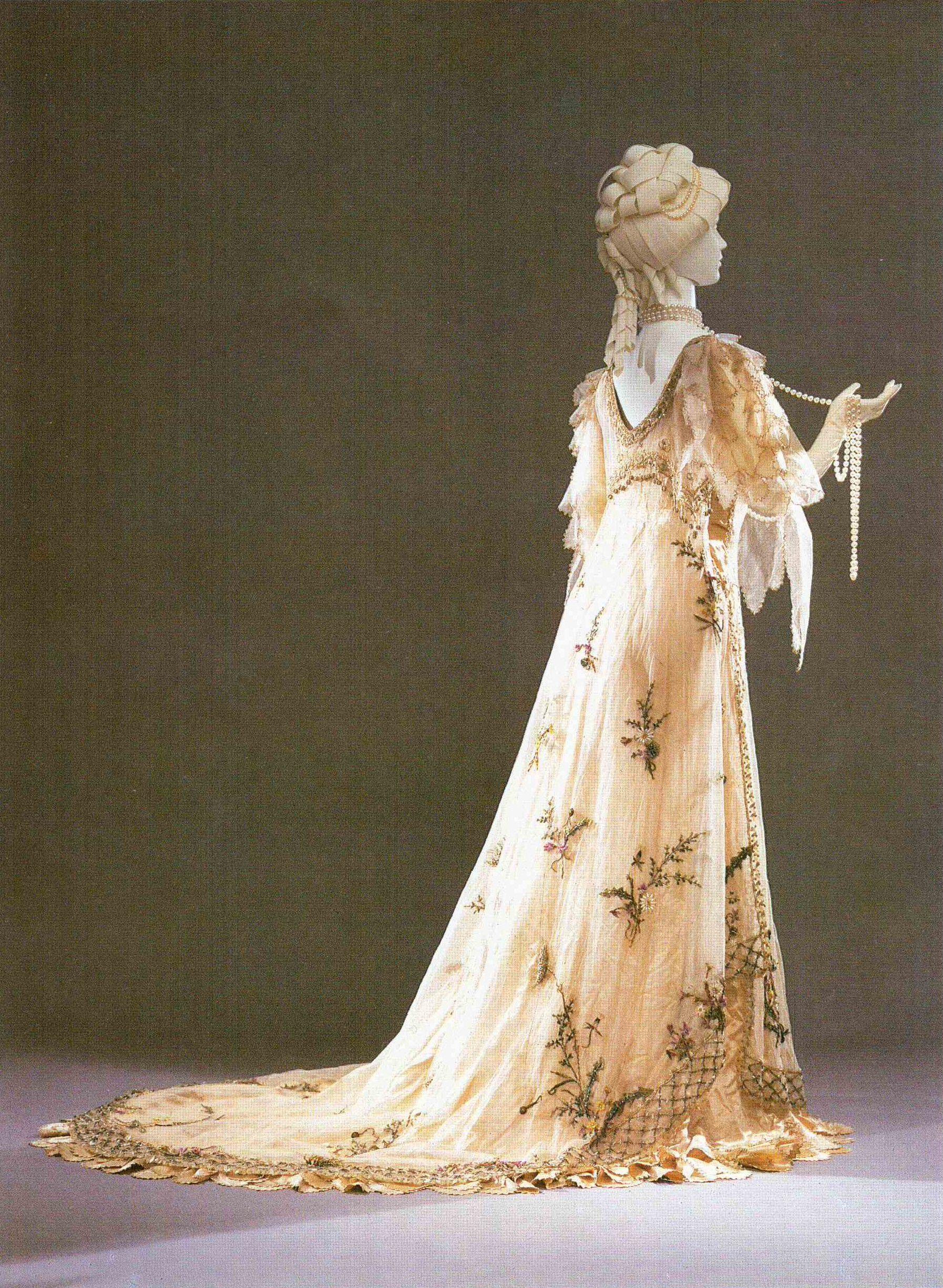 Abiti Da Sposa Del 900.Evening Gown Spring Rosa Genoni 1906 Abito Storico Belle