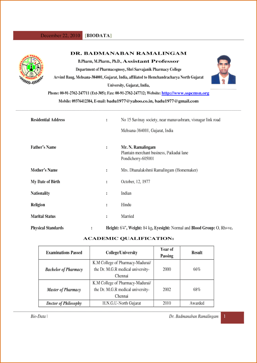 Free Resume Templates 2020 For Freshers