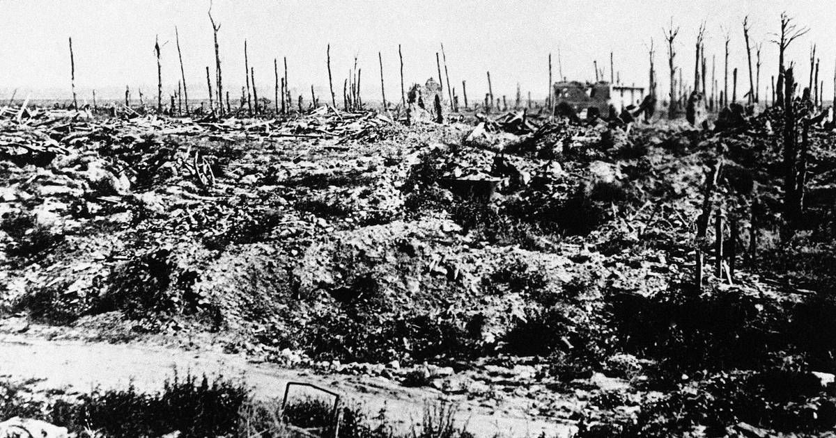 Image result for WWI no man's land