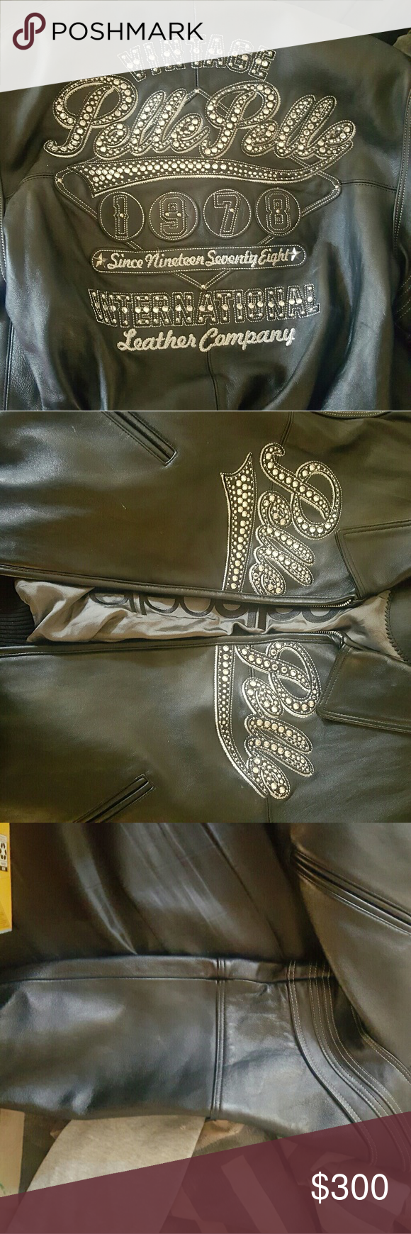 Pelle leather jacket Wore a few time Jackets & Coats