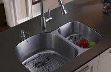 Beaming Undermount Kitchen Sink Design Picture » Code MGSq