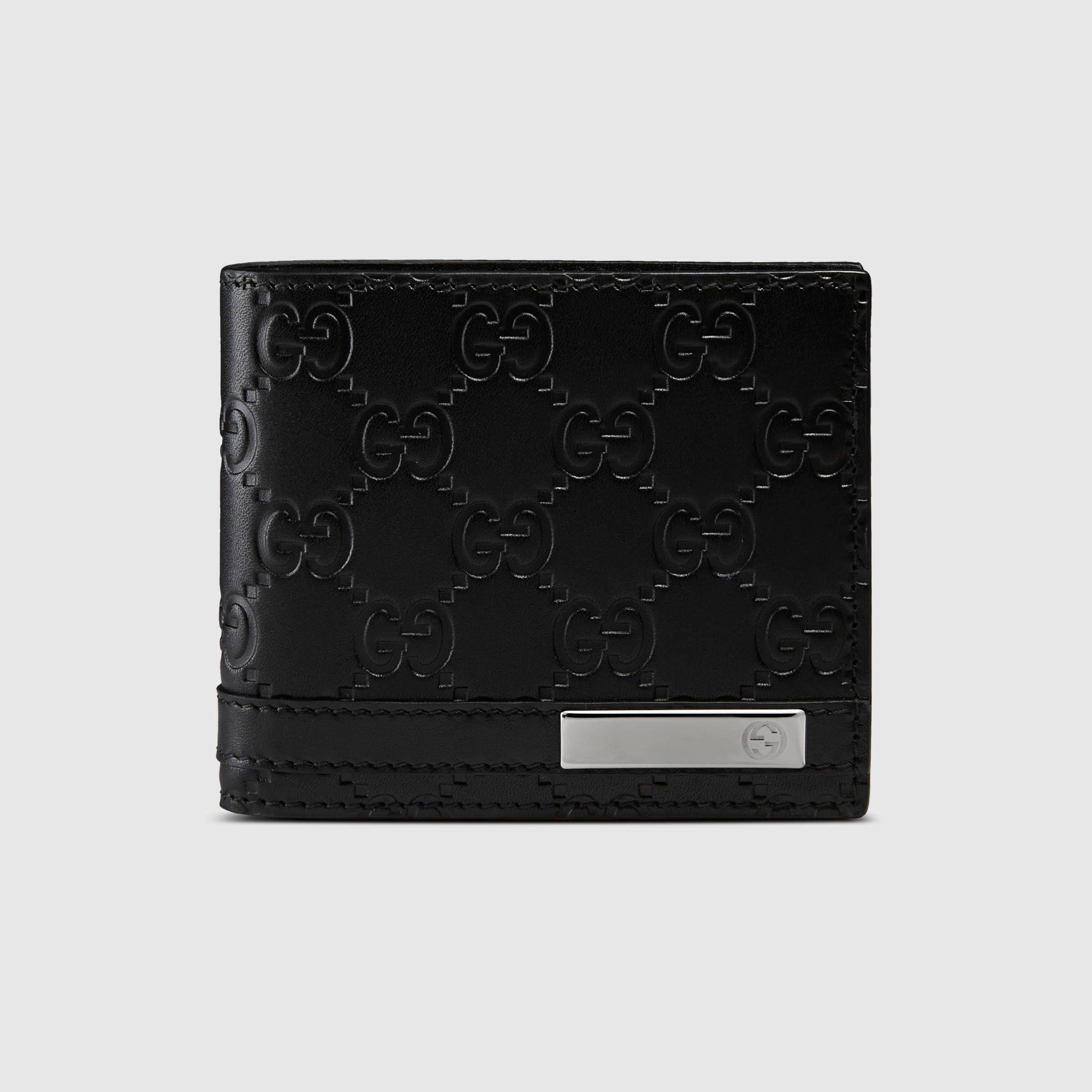 1035943c28a2 Men Gucci Men, Gucci Bags, Gucci Gucci, Black Leather, Leather Wallet,