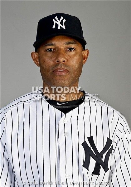 MARIANO RIVERA--2013 PHOTO DAY