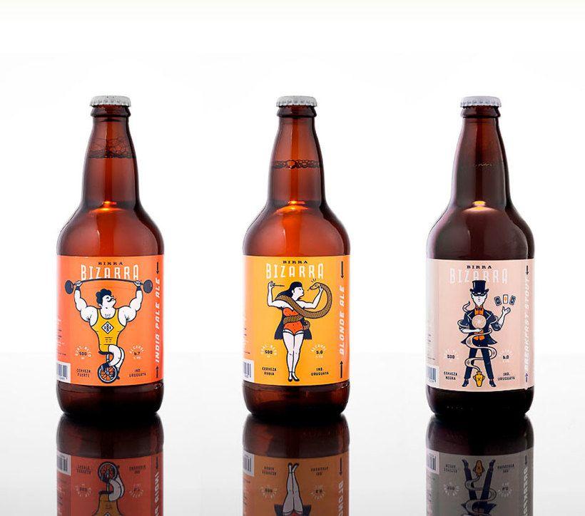 Los 100 Mejores Disenos De Cerveza Del Mundo Blog Domestika Etiquetas De Cerveza Cerveza Envases De Cerveza